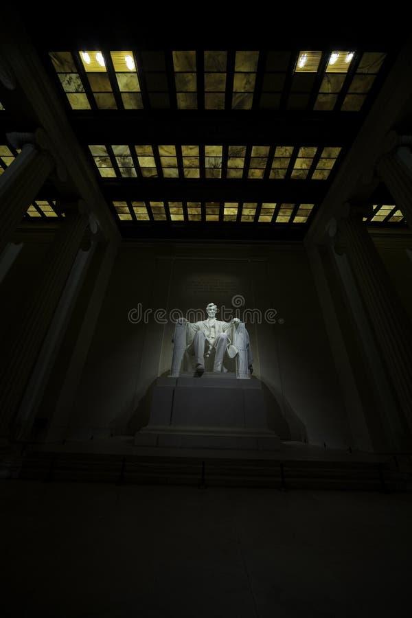 Gedenkteken 2 van Lincoln stock foto