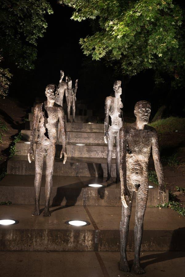Gedenkteken aan de slachtoffers van communisme, Praag, Tsjechische Republiek royalty-vrije stock afbeeldingen
