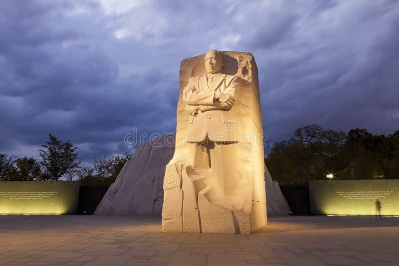 Gedenkteken aan Dr. Martin Luther King stock afbeelding