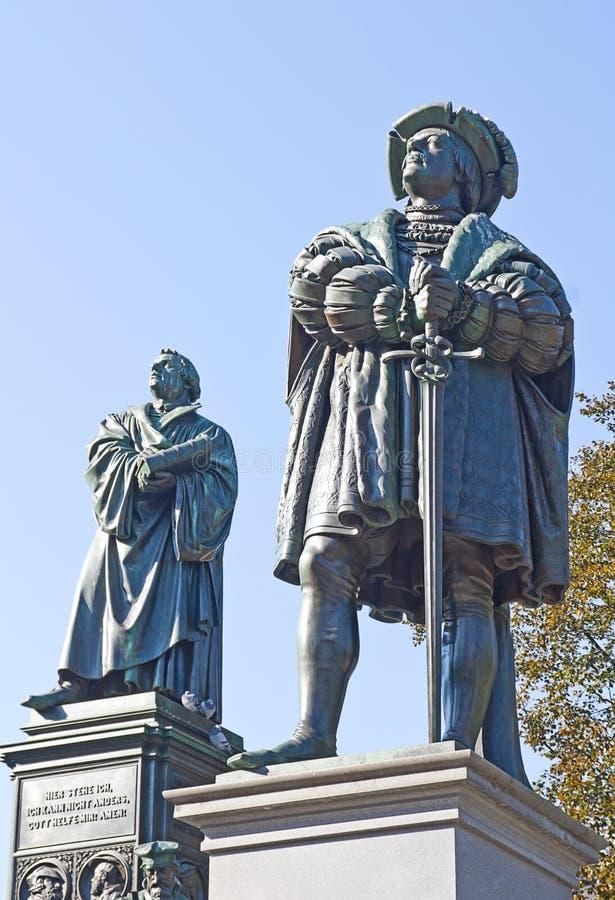 Gedenkteken aan Martin Luther stock fotografie
