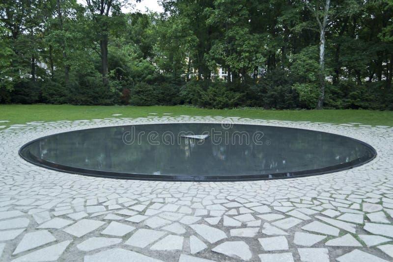 Gedenkteken aan Sinti en Roma Victims van Nazisme royalty-vrije stock afbeelding