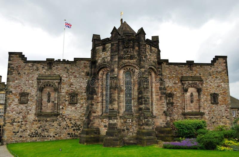 Gedenkteken van de het kasteel het Schotse Nationale Oorlog van Edinburgh stock foto's