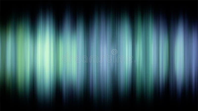 Gedetailleerde Futuristische Audioequaliserlijn Samenvatting geanimeerde achtergrond met audiogolfvorm Naadloze lijn Kleurentint royalty-vrije illustratie