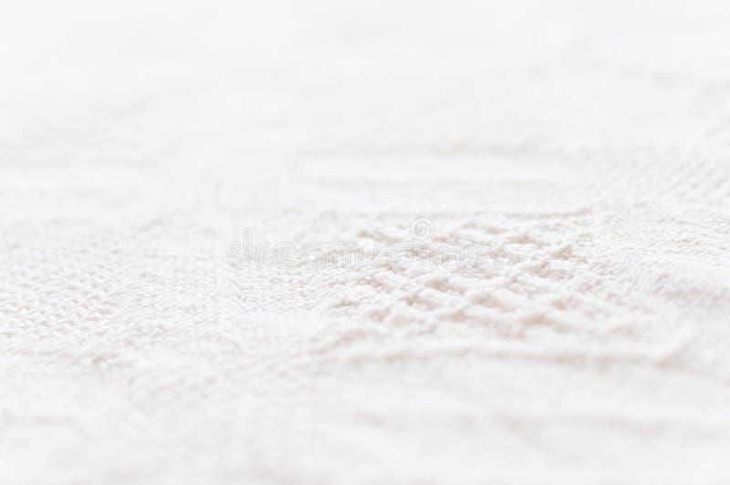Gedetailleerde katoenen textuur royalty-vrije stock afbeeldingen