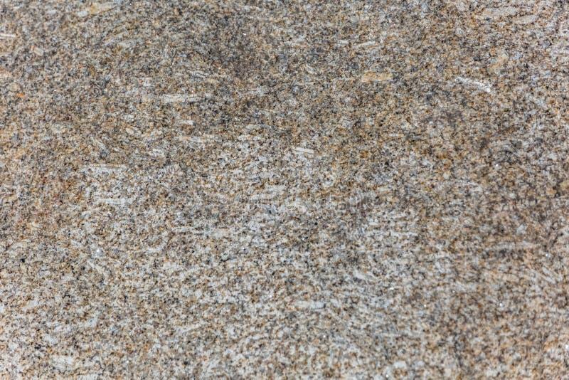 Gedetailleerde mening van de typische textuur van de granietsteen royalty-vrije stock fotografie
