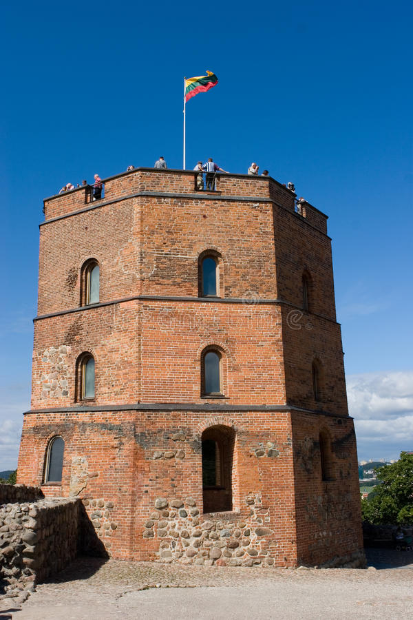 Gediminas castle royalty free stock image