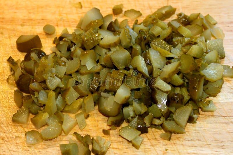 Download Gedobbelde Groenten In Het Zuur Stock Foto - Afbeelding bestaande uit close, ingelegd: 39108138