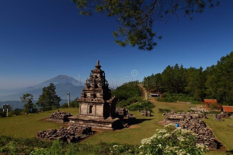 Gedongsongo Świątynia obraz stock