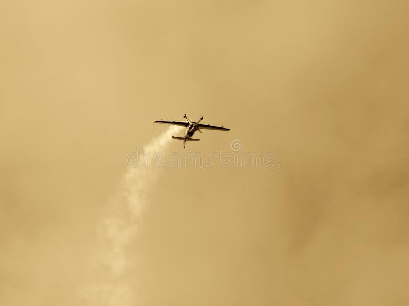 Gedreht Flugzeug II lizenzfreies stockfoto