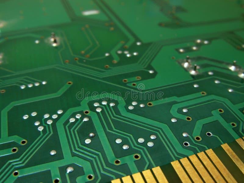 Gedrucktes Leiterplatte lizenzfreie stockfotografie