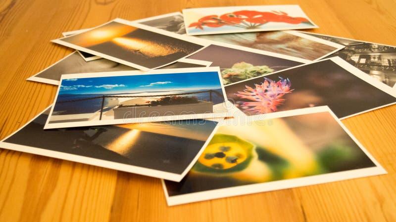 Gedrukte beelden royalty-vrije stock foto