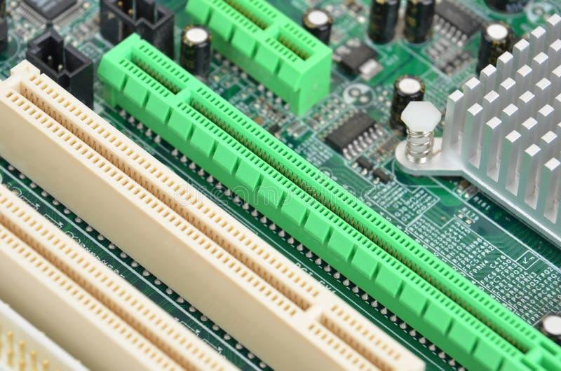Motherboard van de computer raad royalty-vrije stock afbeelding