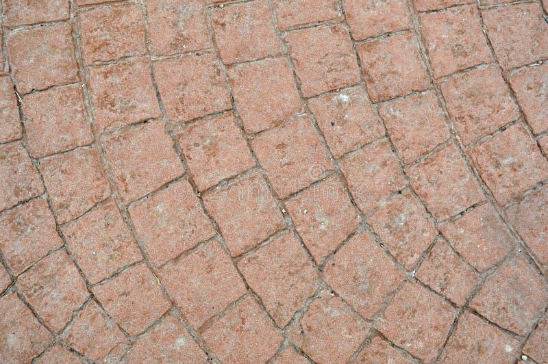 Gedrukte concrete vloer royalty-vrije stock foto's