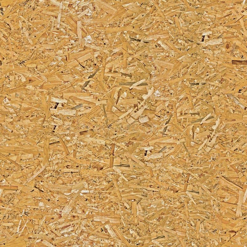 Gedrukte houten spaanplaattextuur Naadloos patroon stock afbeelding