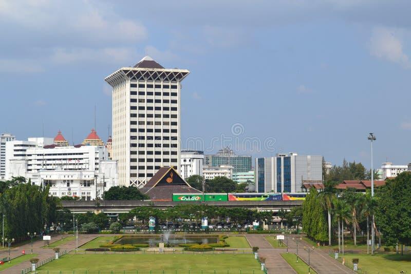 Gedung Kwarnas Pramuka, Jakarta imagens de stock royalty free