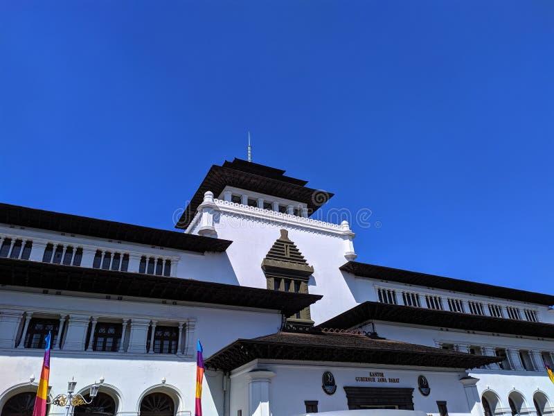 Gedung verzadigt Bandung royalty-vrije stock afbeeldingen