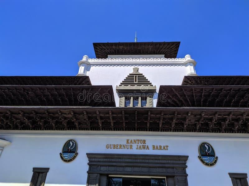Gedung verzadigt Bandung stock afbeeldingen