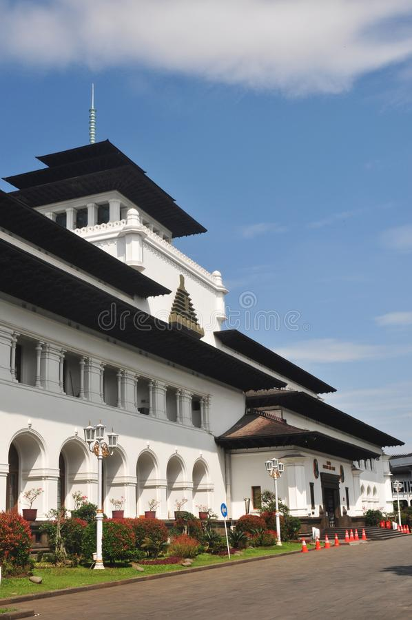 Gedung verzadigt het Inbouwen van Bandung royalty-vrije stock foto