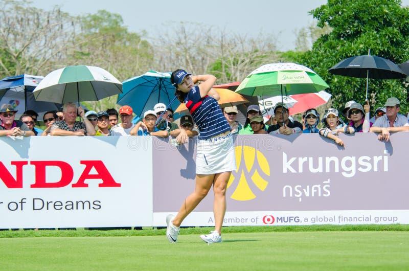 In Gee Chun della Corea del Sud in Honda LPGA Tailandia 2016 immagine stock