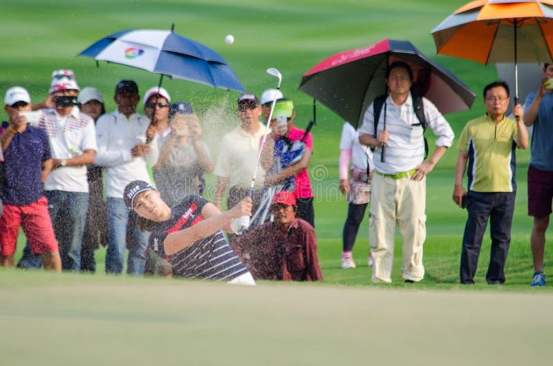 In Gee Chun della Corea del Sud in Honda LPGA Tailandia 2016 immagine stock libera da diritti
