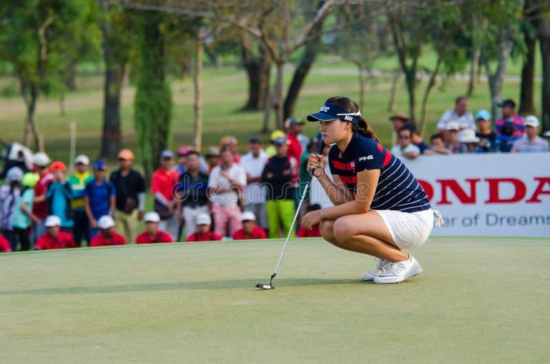 In Gee Chun della Corea del Sud in Honda LPGA Tailandia 2016 immagini stock