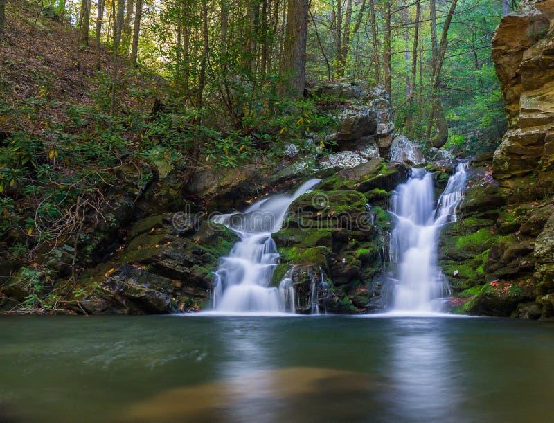 Gee Creek Falls arkivbild