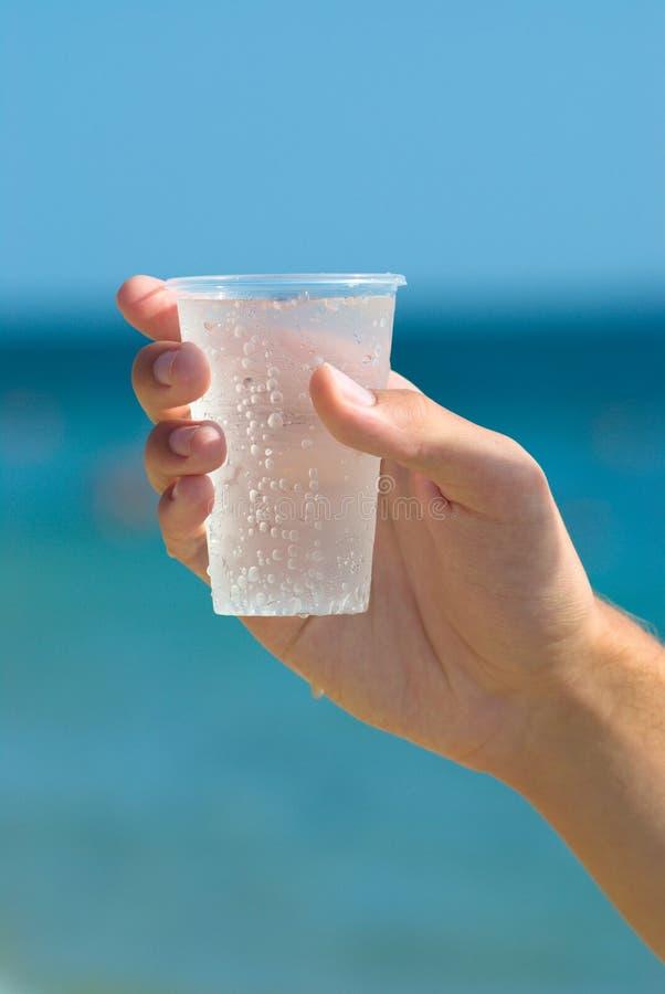 Geef een water stock foto