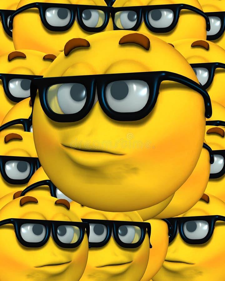 Download Geek Background 2 stock illustration. Illustration of expressive - 4649484