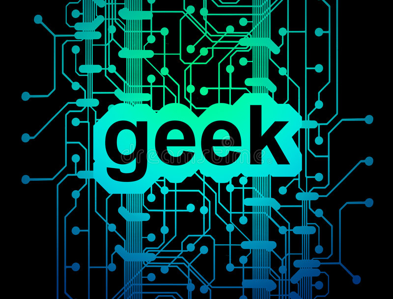 Download Geek circuit board stock illustration. Image of blue, internet - 5907472