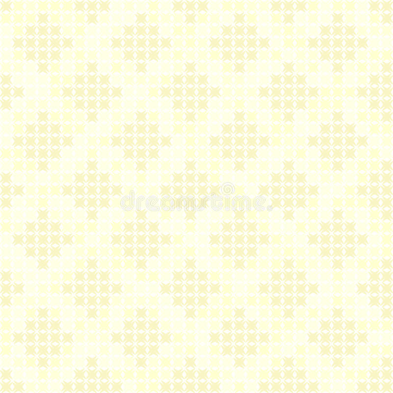 Geel abstract diamantpatroon Naadloze vectorachtergrond vector illustratie