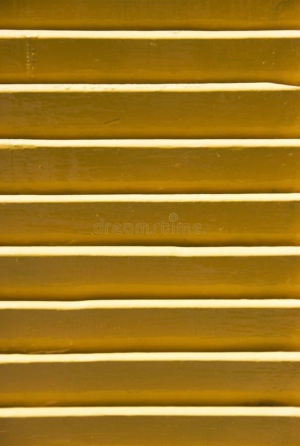 Geel blind royalty-vrije stock afbeelding