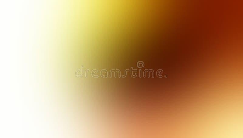 Geel bruin en wit pastelkleur in de schaduw gesteld onduidelijk beeldbehang als achtergrond royalty-vrije illustratie