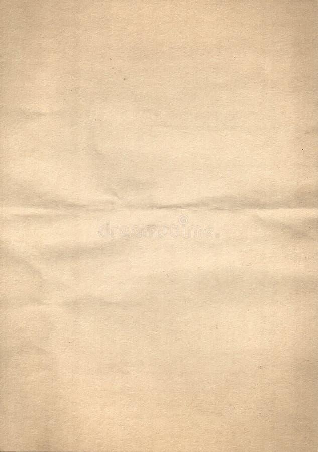 Geel document stock fotografie