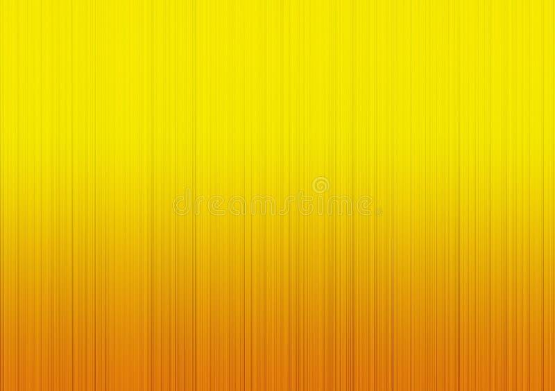 Geel gradiënt lineair achtergrondbehangontwerp vector illustratie