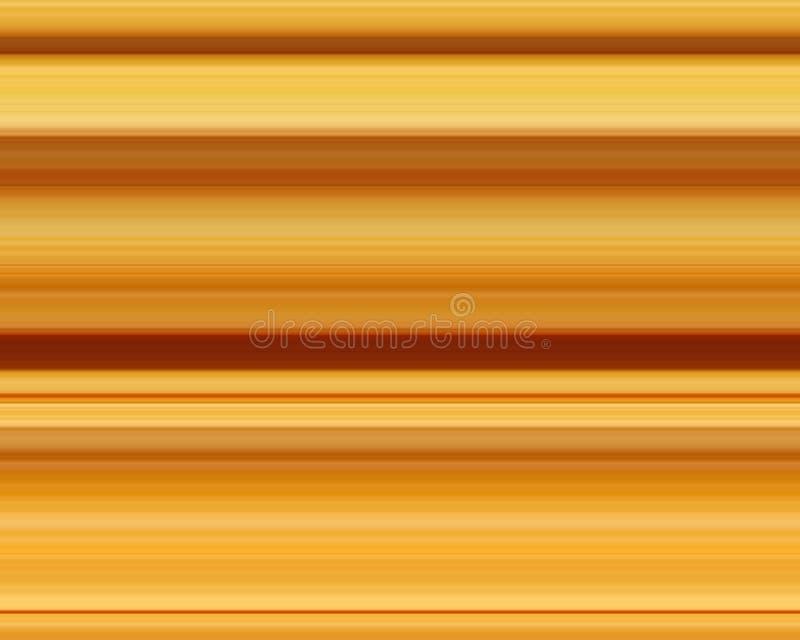 Geel lijnpatroon stock illustratie