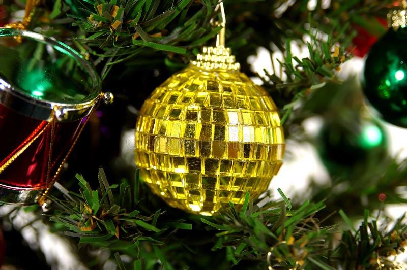 Geel Ornament stock foto