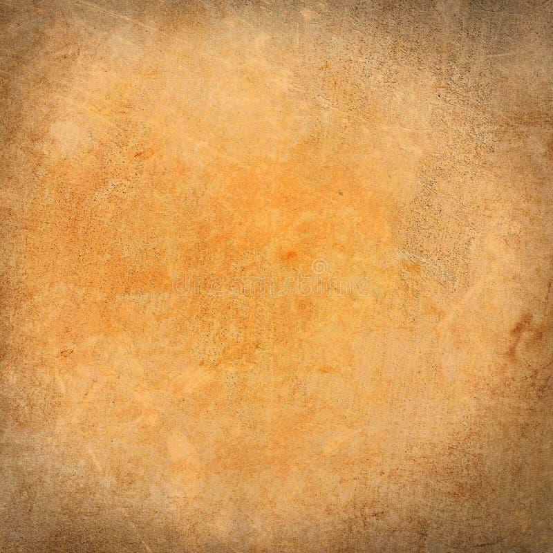 Geel oud het schilderen canvas dicht omhoog royalty-vrije stock afbeeldingen