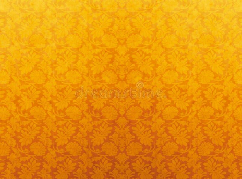 Geel patroon royalty-vrije stock fotografie