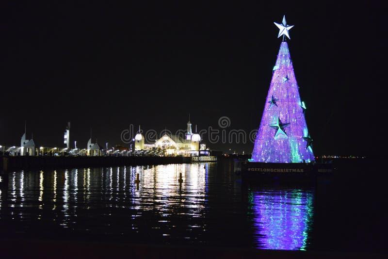 Geelong στα Χριστούγεννα στοκ εικόνες