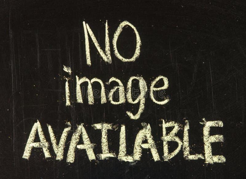 Geen beschikbaar beeld royalty-vrije stock fotografie