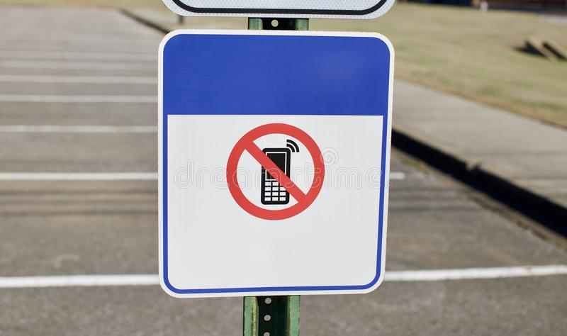 Geen Celtelefoons stock foto