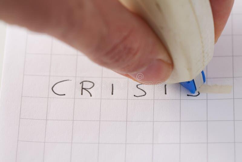Geen crisis stock fotografie