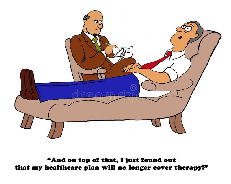 Geen Gezondheidsdekking vector illustratie