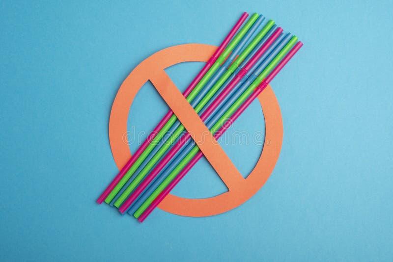 geen plastiek Plastic buizen royalty-vrije stock foto's