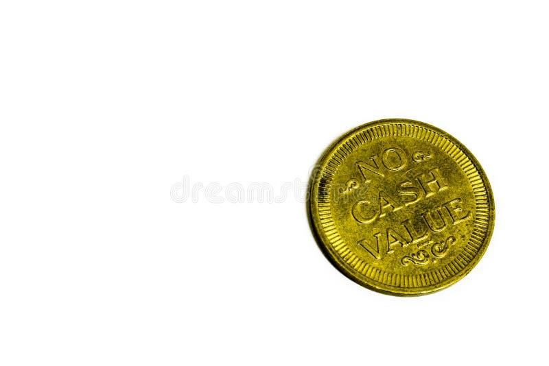 Geen Waarde Van Het Contante Geld Royalty-vrije Stock Afbeeldingen