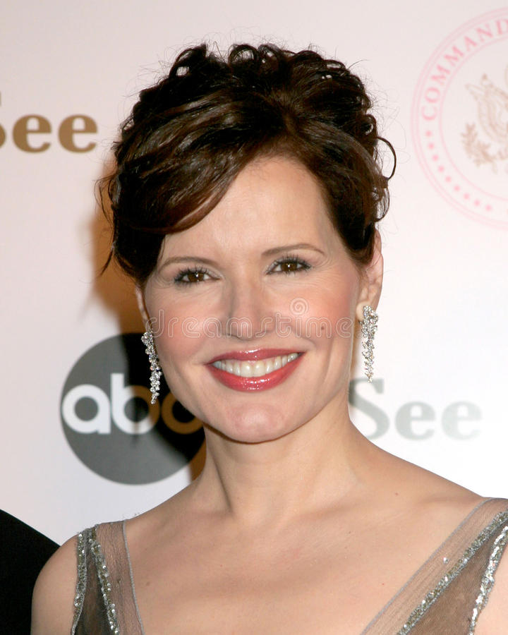 Geena Davis. Commander-in-Chief Inagural Ball Regent Beverly Wilshire Hotel Los Angeles, CA September 21, 2005 stock images