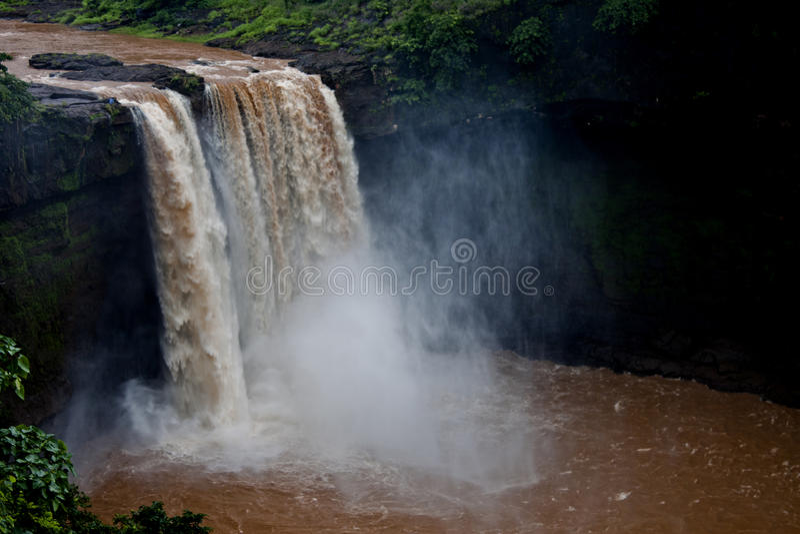 Geera-Wasserfälle - geschossen in Gujarat, Indien stockbilder