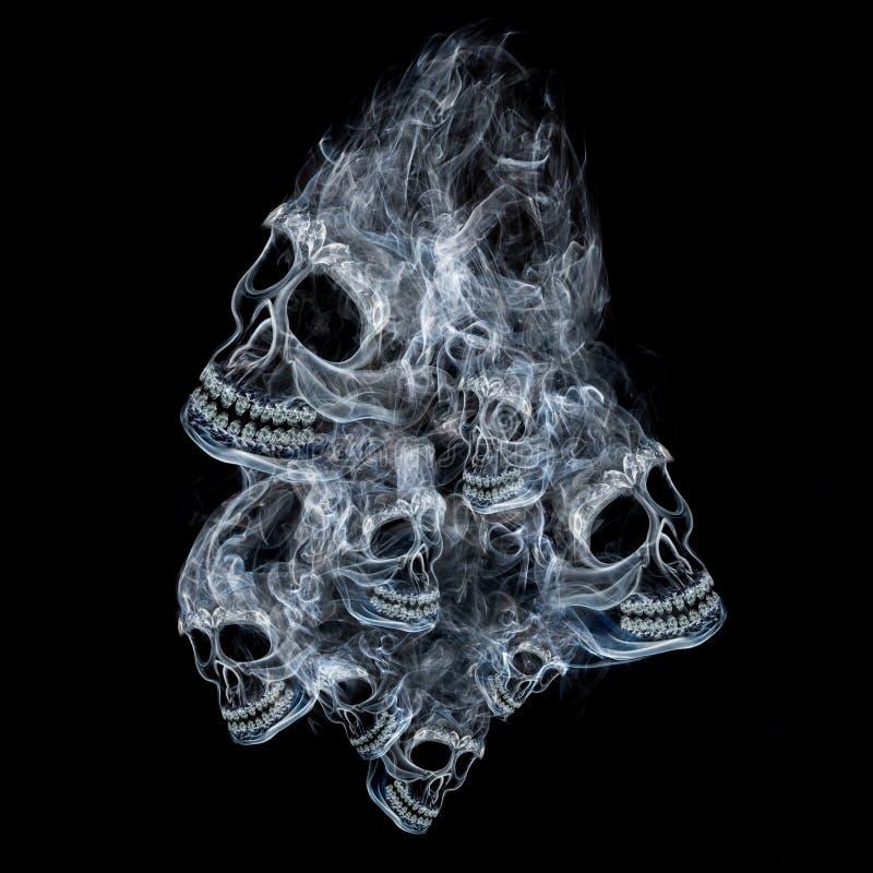 Geest van dood stock foto