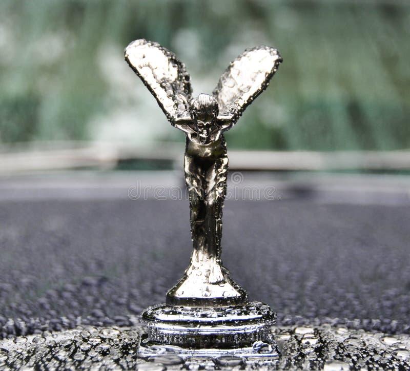 Geest van vervoering, symbool van Rolls-Royce royalty-vrije stock afbeeldingen