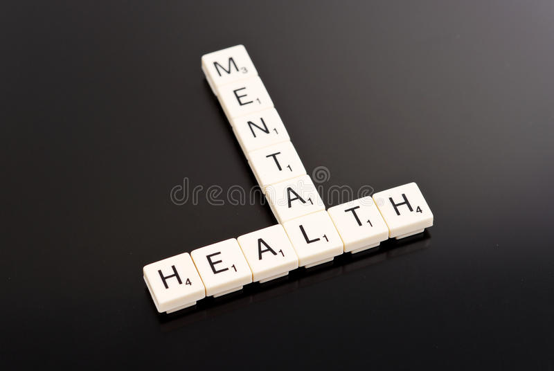 Geestelijke Gezondheid stock foto